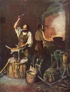 Ковка металла в древности