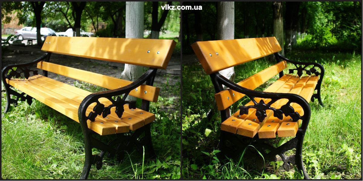 скамейки чугунные фото