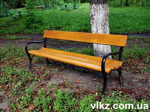 парковая скамейка фото