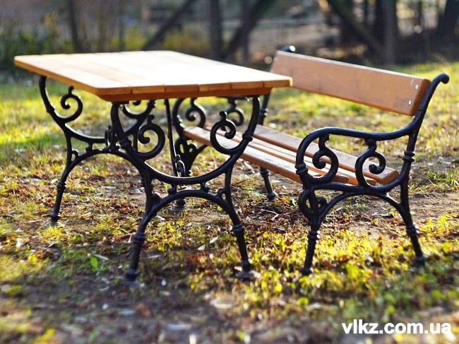 комплект садово парковой мебели
