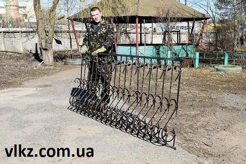 металлические балконные ограждения1