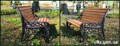 габаритные скамейки