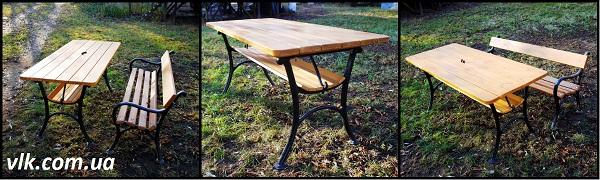 стол из дерева и металла купить