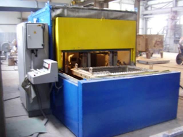 оборудование для выбивки формовочных и стержневых смесей из отливок