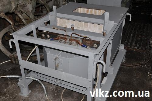 Индукционная плавильно-раздаточная печь ИПРП-025М