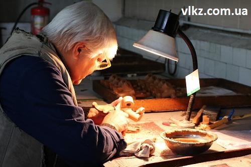 подготовка восковой модели кристал
