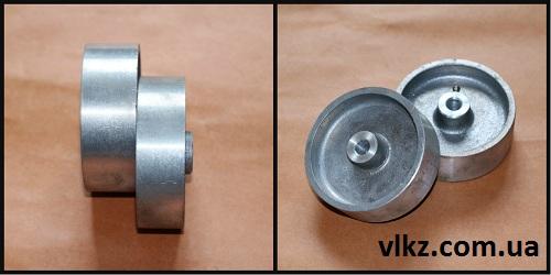 термостойкие колеса для тележек из алюминия