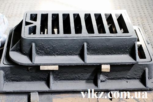 решетка чугунная для ливневой канализации